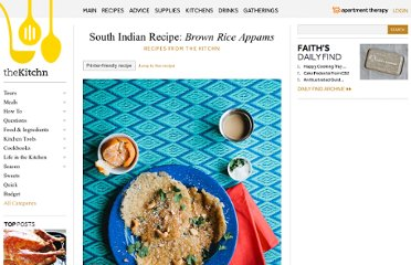 http://www.thekitchn.com/south-indian-recipe-brown-rice-appam-165490