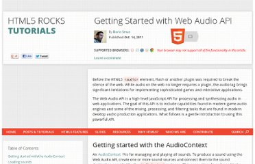 http://www.html5rocks.com/en/tutorials/webaudio/intro/#toc-context