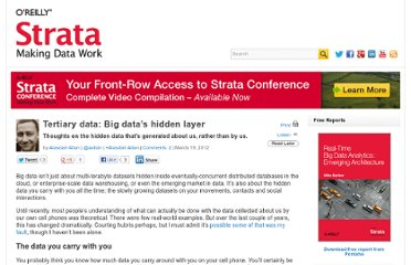 http://strata.oreilly.com/2012/03/hidden-data-exhaust-leakage-location.html