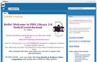 http://phslib2point0.pbworks.com/w/page/31281003/2%20POINT%200%20tutorial
