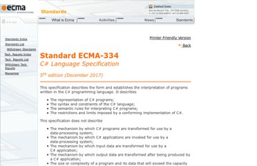 http://www.ecma-international.org/publications/standards/Ecma-334.htm