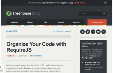 http://blog.teamtreehouse.com/organize-your-code-with-requirejs