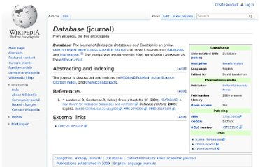 http://en.wikipedia.org/wiki/Database_(journal)