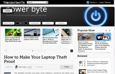http://power-byte.wonderhowto.com/how-to/make-your-laptop-theft-proof-0130161/