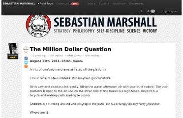 http://sebastianmarshall.com/the-million-dollar-question