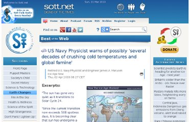 http://www.sott.net/article/181291-US-Navy-Physicist-warns-of-possibly-several-decades-of-crushing-cold-temperatures-and-global-famine