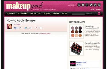 http://www.makeupgeek.com/makeup-basics/how-to-apply-bronzer/