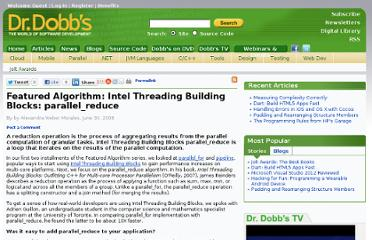 http://www.drdobbs.com/featured-algorithm-intel-threading-build/212903316