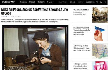http://www.fastcompany.com/1825568/make-iphone-android-app-without-knowing-line-code