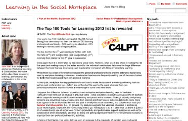 http://www.c4lpt.co.uk/blog/2012/10/01/the-top-100-tools-for-learning-2012-list-is-revealed/