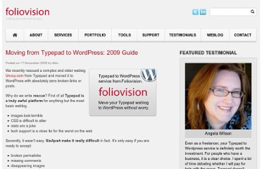 http://foliovision.com/2008/11/typepad-to-wordpress