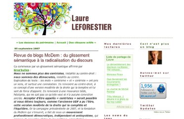 http://laureleforestier.typepad.fr/blog_de_laure_leforestier/2007/09/revue-de-blogs-.html