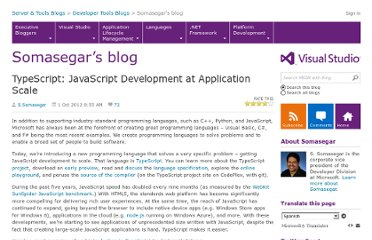 http://blogs.msdn.com/b/somasegar/archive/2012/10/01/typescript-javascript-development-at-application-scale.aspx