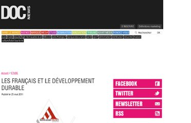 http://www.docnews.fr/actualites/etude,francais-developpement-durable,32,9502.html
