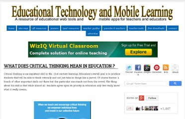 http://www.educatorstechnology.com/2012/09/critical-thinking-learning.html