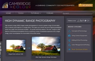 http://www.cambridgeincolour.com/tutorials/high-dynamic-range.htm