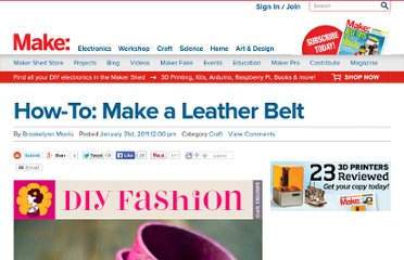 http://blog.makezine.com/craft/how-to_make_a_leather_belt/