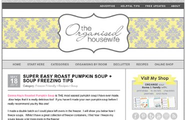 http://theorganisedhousewife.com.au/recipes/super-easy-roast-pumpkin-soup-soup-freezing-tips/