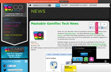http://www.gamification.co/2011/11/01/mashable-gamifies-tech-news/