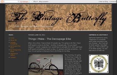 http://happinessisabutterfly.blogspot.com/2011/06/things-i-make-decoupage-bike.html