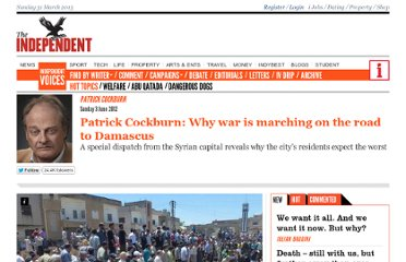 http://www.independent.co.uk/voices/commentators/patrick-cockburn-why-war-is-marching-on-the-road-to-damascus-7813555.html