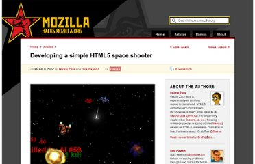 https://hacks.mozilla.org/2012/03/developing-a-simple-html5-space-shooter/