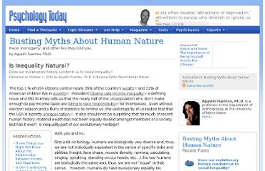 http://www.psychologytoday.com/blog/busting-myths-about-human-nature/201210/is-inequality-natural