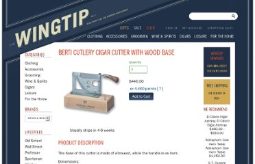 http://wingtip.com/product/berti-cutlery/cigar-cutter-with-wood-base/30275