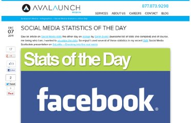 http://avalaunchmedia.com/infographics/social-media-statistics-of-the-day