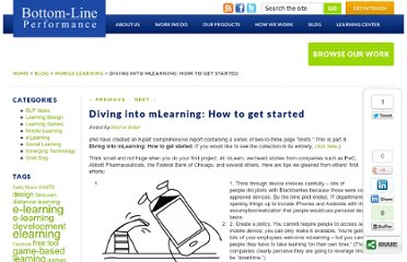 http://www.bottomlineperformance.com/diving-into-mlearning-how-to-get-started/