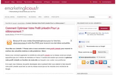 http://www.emarketinglicious.fr/social-media/comment-optimiser-votre-profil-linkedin-pour-le-referencement