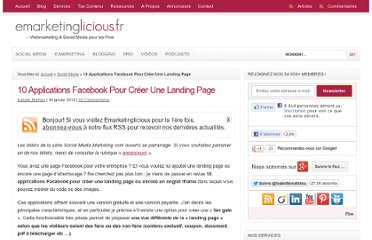 http://www.emarketinglicious.fr/social-media/10-applications-facebook-pour-creer-une-landing-page