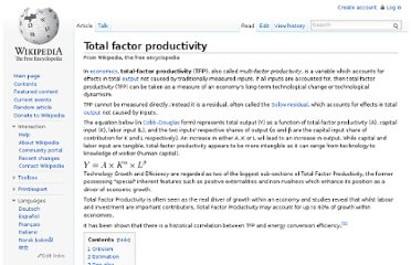 http://en.wikipedia.org/wiki/Total_factor_productivity