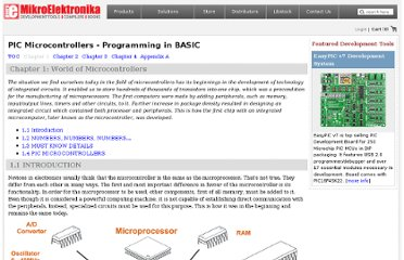 http://www.mikroe.com/chapters/view/74/pic-basic-book-chapter-1-world-of-microcontrollers/