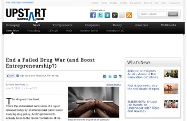 http://upstart.bizjournals.com/news/wire/2011/06/02/global-commission-calls-drug-war-a-failure.html