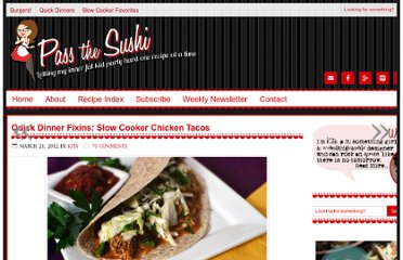 http://passthesushi.com/quick-dinner-fixins-slow-cooker-chicken-tacos/