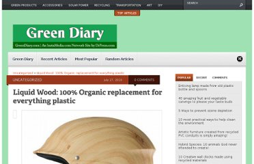http://www.greendiary.com/liquid-wood-100-organic-replacement-for-everything-plastic.html