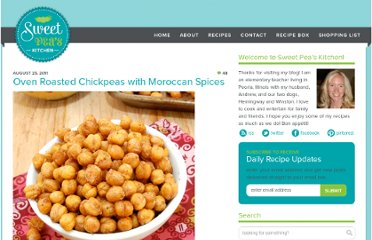 http://sweetpeaskitchen.com/2011/08/oven-roasted-chickpeas-with-moroccan-spices/