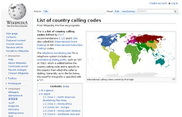 http://en.wikipedia.org/wiki/List_of_country_calling_codes