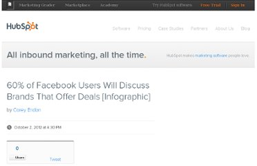 http://blog.hubspot.com/blog/tabid/6307/bid/33668/60-of-Facebook-Users-Will-Discuss-Brands-That-Offer-Deals-Infographic.aspx