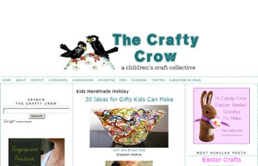 http://belladia.typepad.com/crafty_crow/kids_handmade_holiday/