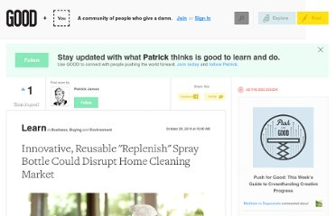 http://www.good.is/posts/innovative-reusable-replenish-spray-bottle-could-disrupt-home-cleaning-market
