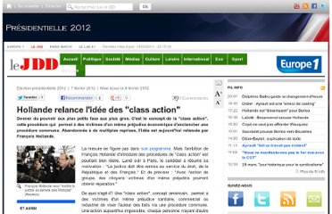 http://www.lejdd.fr/Election-presidentielle-2012/Actualite/Hollande-veut-mettre-en-place-les-class-action-484697