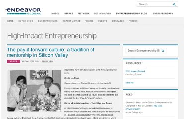 http://www.endeavor.org/blog/the-pay-it-forward-culture/