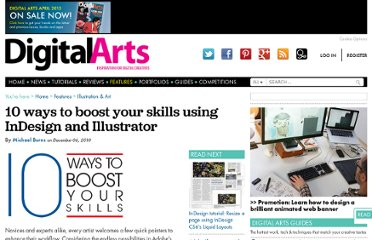 http://digitalartsonline.co.uk/features/illustration/10-ways-boost-your-skills-using-indesign-illustrator/