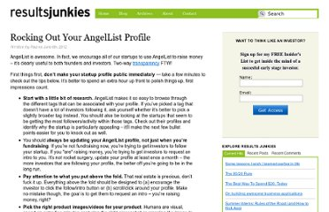 http://resultsjunkies.com/blog/rocking-out-your-angellist-profile/