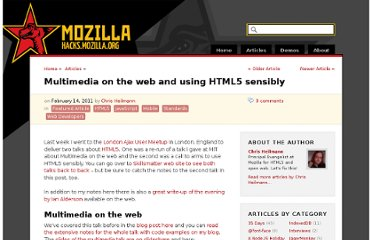 https://hacks.mozilla.org/2011/02/multimedia-on-the-web-and-using-html5-sensibly/