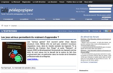 http://www.cafepedagogique.net/lexpresso/Pages/2012/10/03102012Article634848423453183232.aspx