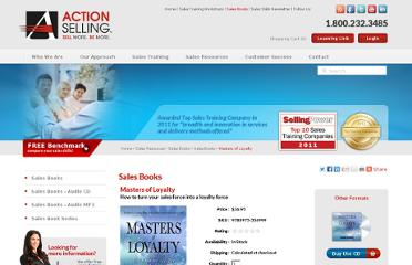 http://www.actionselling.com/index.php/sales-resources/sales-books/sales-books/masters-of-loyalty/