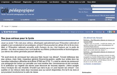 http://www.cafepedagogique.net/lexpresso/Pages/2012/10/03102012Article634848423456615298.aspx